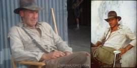 Indiana Jones: Then and Now