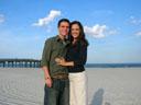 Jordan and Kristin Engagement on the Beach.