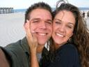 Jordan and Kristin Engagement on the Beach 2