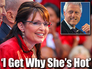 Clinton: I get why she's hot
